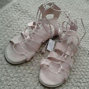 Old Navy Blush Pink Sandals